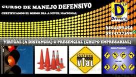 CURSO DE MANEJO DEFENSIVO PARA CONDUCTORES VIRTUAL