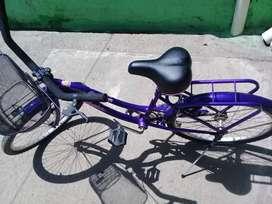 Bicicleta de paseo rodado 24