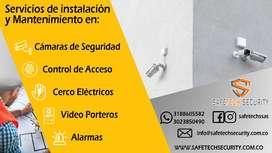 Instalación y mantenimiento de camaras de seguridad