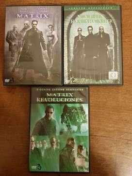 Películas DVD Matrix.