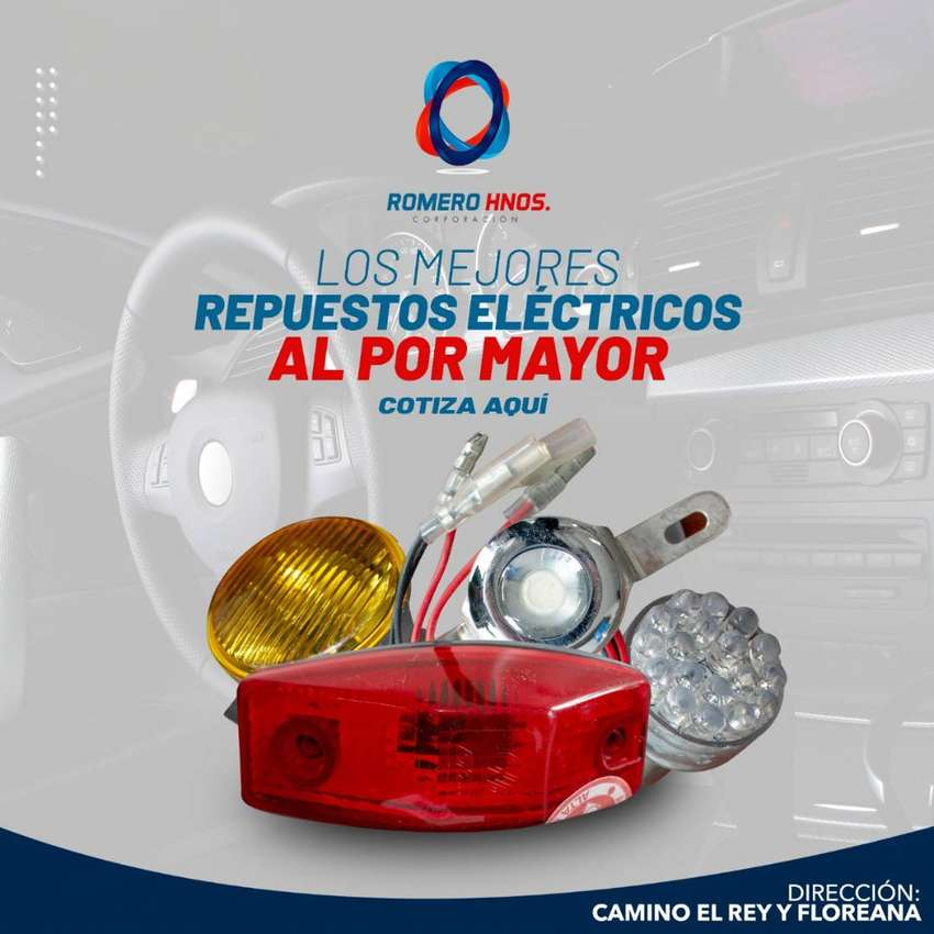 REPUESTOS ELECTRICOS MULTIMARCA PARA TODO TIPO DE AUTO - SOMOS ROMERO HNOS, IMPORTADORES DIRECTOS 0