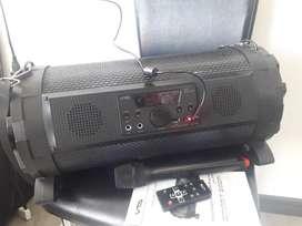Equipo de sonido amplificador recargable bluetooth