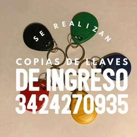 COPIA DE LLAVES RFID