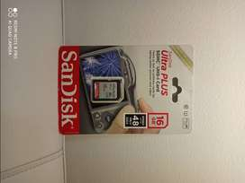Sandisk Ultra Plus Uhs-1 De 16 Gb  Tarjeta Sd Clase 10