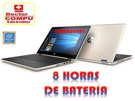 "ÚNICA¡ LAPTOP Hp PAVILION X360 Convertible 2en1/Intel Pentium Gold 14"" Pulg/4 GB RAM Disco Sólido 128GB Táctil"