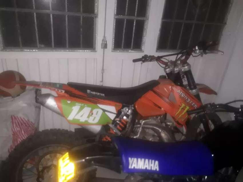 KTM 200 2T vendo o permuto