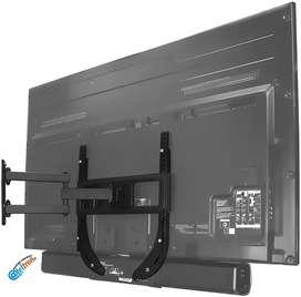 Soportes bases instalación barras de sonido