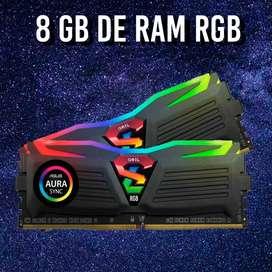 Memoria Ram Geil Super Luce Rgb 8gb (3000 Mhz)
