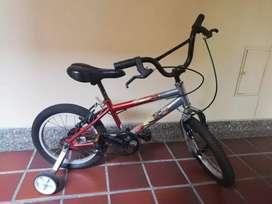 Bicicleta niño de segunda
