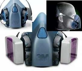 Respirador 7502 cilicona