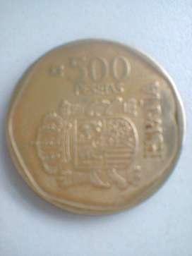 Moneda de España 500 Pesetas/Año 1989/Impecable!