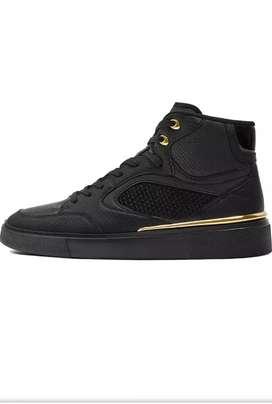 Zara - zapatillas negras para hombre 42