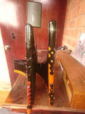 Flautas de pan y instrumentos de viento
