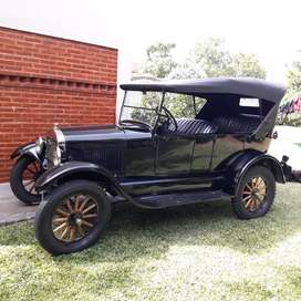 Ford T 1927 doble Faeton. Original