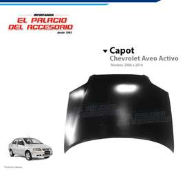 Capot Chevrolet Aveo Activo 2005, 2010, 2015, 2020