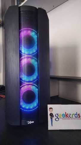 Case Gamer con luces LED