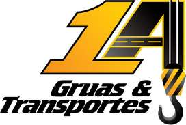 SERVICIO DE GRÚA 24 H GRÚAS Y TRANSPORTES 1A S.A.S