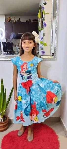 Vestidos de todas las princesas de disney