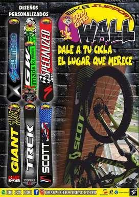 tablas para soporte de bicicletas