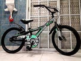 Bicicleta bmx rodado 20 xterra como nueva sin uso
