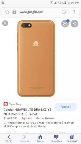 Celular hawei y5