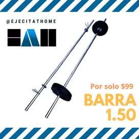 Promo Barra recta 1.50