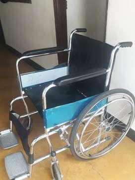 Vendo silla de ruedas como nueva