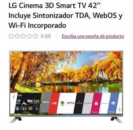 Smart TV 3D, marca LG