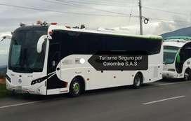 Viaja en transporte por toda Colombia. Buses y van de pasajeros