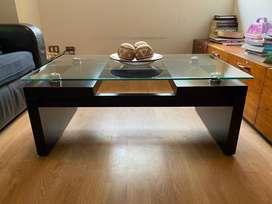 Mesa de centro y 1 mesas lateral!!