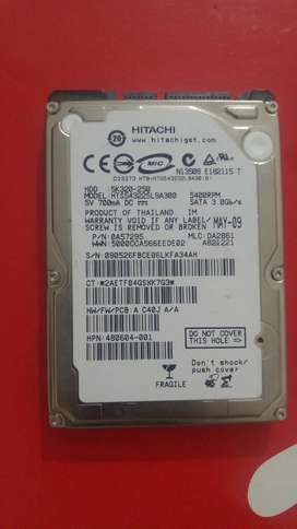 Disco Duro Notebook Hitachi 250gb