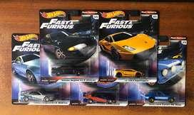 Hot wheels Rapido y Furioso