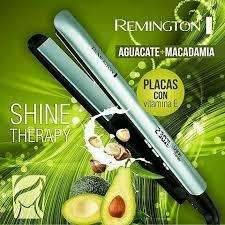 Plancha Remington Aguacate Shine Therapy Original Obsequio