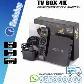 TV BOX convertidor de TV A SMART TV