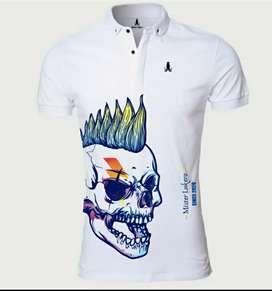 Camisa Lukero calavera alternativa hombre colores