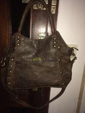 Vendo Cartera The Bag Belt de Cuero Nuev