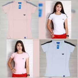 Camisetas Tela fria Dama Talla S