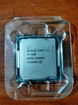 Vendo o cambio Procesador Intel Core i3 7100 tipo Gamer para PC