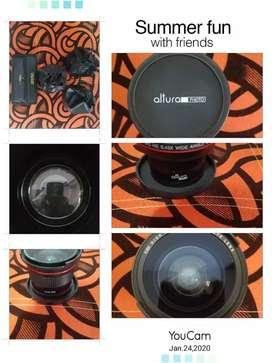 Adaptadores de cámaras