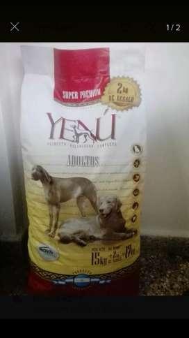 OFERTA Alimento Balanceado Yenu X 17kg