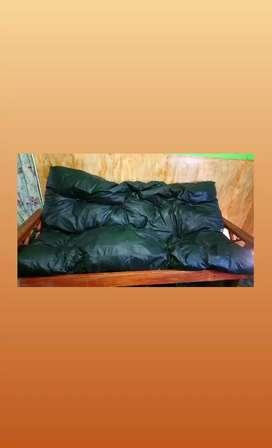 Futon sillón cama 3 cuerpos + colchón