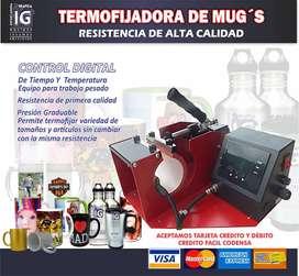 A1 Maquina para sublimar mugs nueva