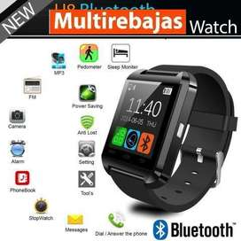 Reloj Smart Watch Bluetooth U8 Android S8 S9 P10 P20 J7 Pro