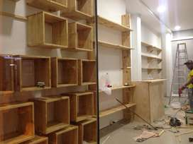 Muebles para Almacenes, Boutiques, Bares, Pérgolas, Estudios.