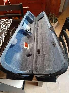 Funda nueva para violin 4/4 semi-rigida, interior Terciopelo