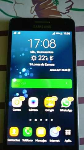 Celular samsumg A5 Mod. SM A500M liberado usado