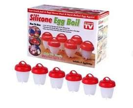 Hervidor de huevos silicone Egg boil 6 unidades.