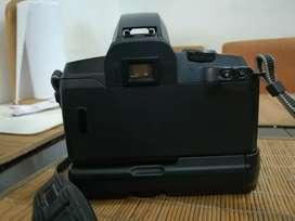 Camara eos 5000 lente 38-76mm y bateria grip