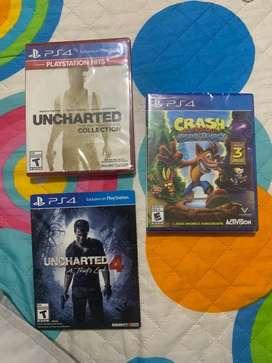JUEGOS ORIGINALES DE PS4