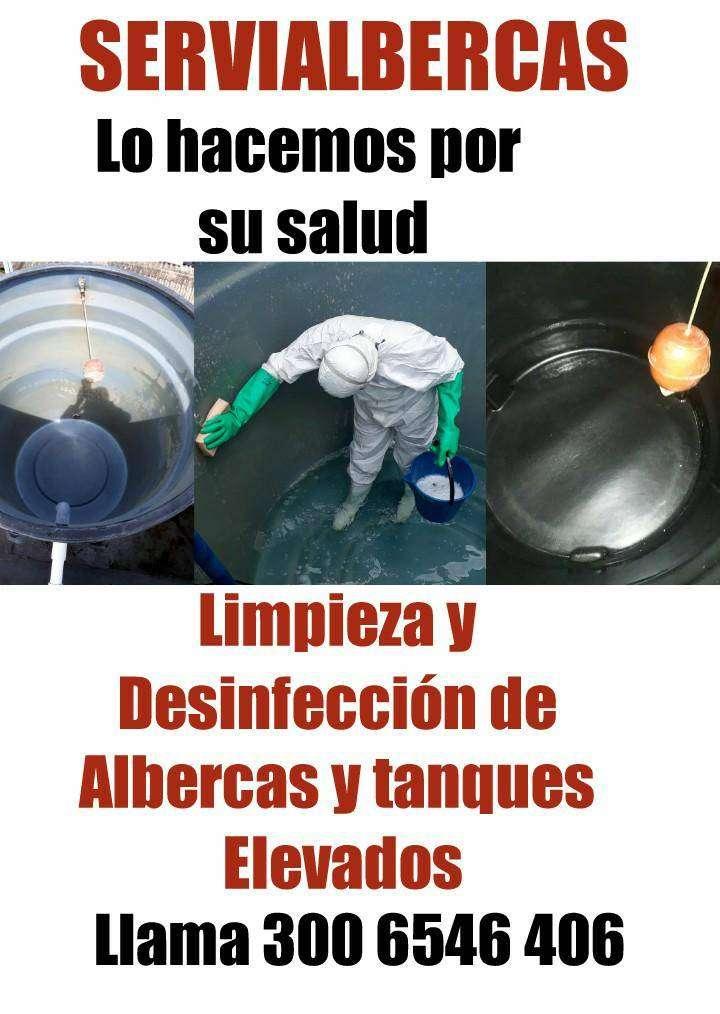LAVADO DE ALBERCAS Y TANQUES